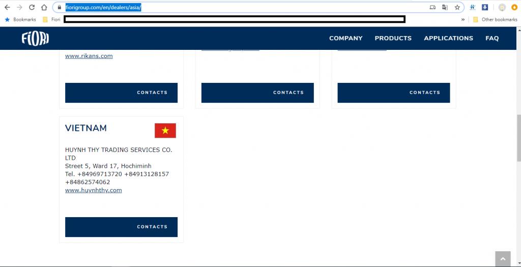 Huỳnh Thy Company là đơn vị phân phối Độc Quyền Trạm Trộn Bê Tông Di Động Fiori của Ý tại Việt Nam