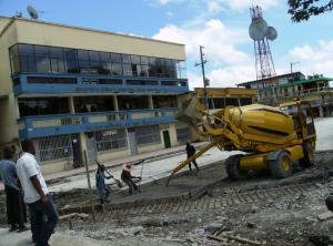 Fiori cung cấp bê tông xây dựng cơ sở hạ tầng Thành phố